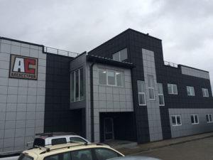 АС-профиль здания из ЛСТК