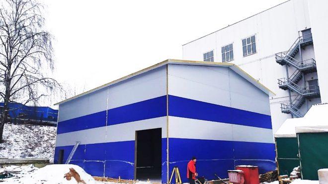Новый склад готовой продукции в Минске
